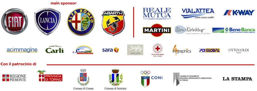 Sponsor Cesana Sestriere 2014