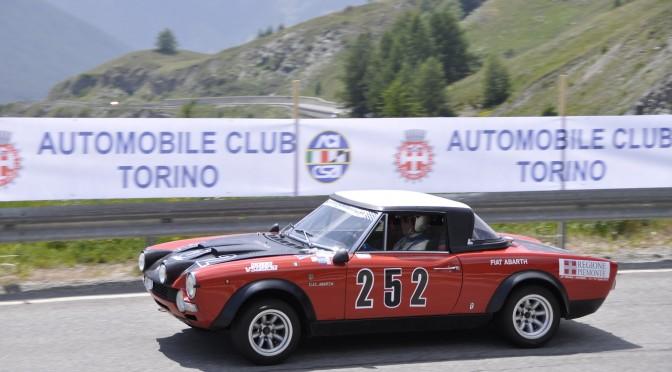 Nella foto il vincitore del Trofeo Giovanni Agnelli 2013, Roberto Gorni su Fiat Abarth 124 Rally